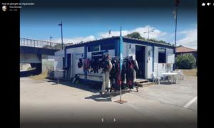 La cabane du club de plongée - Les Aquanautes à Capbreton