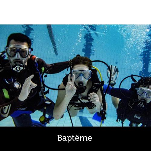 Baptême de plongée avec les Aquanautes - Capbreton