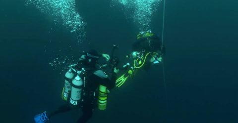 Expédition des Aquanautes vers le canyon de Nazaré