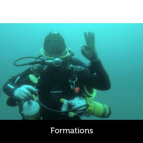 Formations de plongée avec les Aquanautes - Capbreton