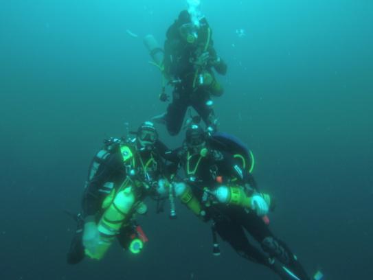 La formation Trimix Normoxique - Les Aquanautes
