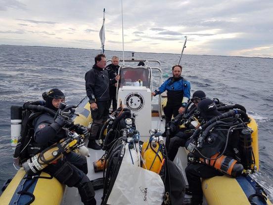 L'exploration ou l'aide logistique pour des expéditions auprès du Gouf - Les Aquanautes