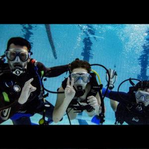 Baptême de plongée avec les Aquanautes