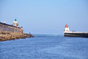 Les Aquanautes, à deux pas de la sortie du port de Capbreton