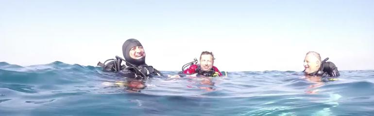 Une plongée avec Les Aquanautes